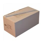 Пружины пластиковые Agent, 16 мм, белый, 100 шт (1316712)