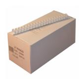 Пружины пластиковые Agent, 22 мм, белый, 50 шт (1322711)