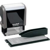Самонаборный штамп 3-х строчный Trodat Printy 4911, укр, серый