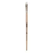 Кисть синтетика, Zibi Creamy 6972, угловая 3/8, короткая ручка, ART Line (ZB.6972SAGR-3/8)