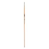 Кисть синтетика, Zibi Creamy 6973, угловая 1/8, длинная ручка, ART Line (ZB.6973SAGR-1/8)