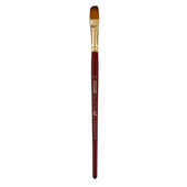 Кисть синтетика, Zibi Cherry 6970, овальная 10, короткая ручка, ART Line (ZB.6970SFBT-10)