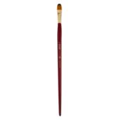 Кисть синтетика, Zibi Cherry 6971, овальная 12, длинная ручка, ART Line (ZB.6971SFBT-12)