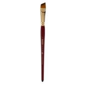 Кисть синтетика, Zibi Cherry 6970, угловая 6, короткая ручка, ART Line (ZB.6970SAGR-6)