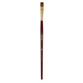 Кисть синтетика, Zibi Cherry 6970, плоская 8, короткая ручка, ART Line (ZB.6970SFT-8)