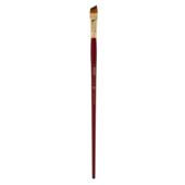 Кисть синтетика, Zibi Cherry 6971, угловая 6, длинная ручка, ART Line (ZB.6971SAGR-6)