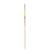 Кисть синтетика, Zibi Creamy 6973, круглая 6, длинная ручка, ART Line (ZB.6973SRD-6)