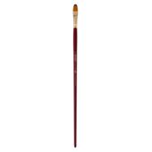 Кисть синтетика, Zibi Cherry 6971, овальная 10, длинная ручка, ART Line (ZB.6971SFBT-10)