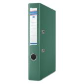 Регистратор Donau, А4, 50 мм, рычаж. мех, двухсторонний, зеленый (3955001PL-06)