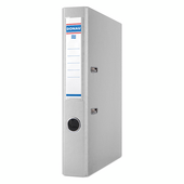 Регистратор Donau, А4, 50 мм, рычаж. мех, двухсторонний, серый (3955001PL-13)