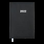 Ежедневник датированный 2022 Buromax BASE (Miradur) А6 L2U черный 336 с (BM.2514-01)