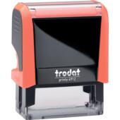Оснаска для штампа Trodat Neon 4912 оранжевая (4912 NEON помар)