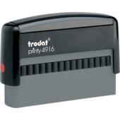 Оснастка для штампа Trodat Printy 4916 черная (4916 чорна)