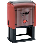 Оснастка для штампа Trodat Printy 4927 красная (4927 черво)