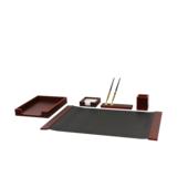 Набор настольный Bestar Smart 5 предметов из красного дерева (5105FDU)