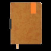 Ежедневник недатированный Buromax VERONA А5 св-коричневый 288 с (BM.2015-18)
