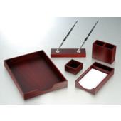 Набор настольный Bestar Nowaday 5 предметов из красного дерева (5144FDU)