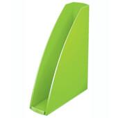 Лоток вертикальный Leitz WOW зеленый металлик (5277-10-54)