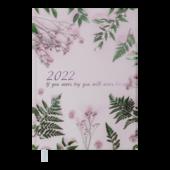 Ежедневник датированный 2022 Buromax SPOLETOА5 розовый 336 с (BM.2168-10)