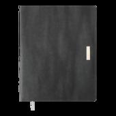 Еженедельник датированный 2022 Buromax SALERNO A4 серый L2U 136 с (BM.2781-09)