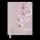 Ежедневник датированный 2022 Buromax FILLINGА5 розовый 336 с (BM.2162-10)