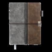 Ежедневник датированный 2022 Buromax LIBEROА5 серый 336 с (BM.2117-09)