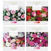 Тетрадь Мрії Збуваються Flowers B5 клетка 36 л (ТА5.3611.3195к)
