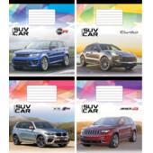 Тетрадь Мрії Збуваються SUV Car B5 клетка 48 л (ТА5.4811.2107к)