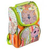 Рюкзак шкільний каркасний Josef Otten Котик 34x26x14.5 см (1606JO)