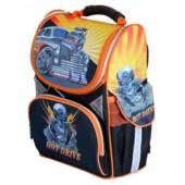 Рюкзак школьный каркасный Josef Otten Машина 34x26x14.5 см (1607JO)