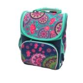 Рюкзак шкільний каркасний Josef Otten Візерунки 34x26x14.5 см (1820SM)