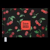 Еженедельник датированный 2022 Buromax SAVE карманный черный 128 с (BM.2759-01)
