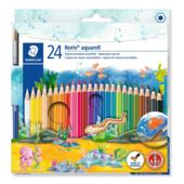 Карандаши цветные акварельные Noris Club (24шт/упак) (ST.144 10NC24)