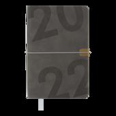 Ежедневник датированный 2022 Buromax BEST А6 серый 336 с (BM.2519-09)