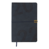 Еженедельник датированный 2022 Buromax BEST A5 синий 136 с (BM.2704-02)