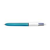 Ручка Bic 4 in 1 Colours Shine Blue голубая (bc982874)