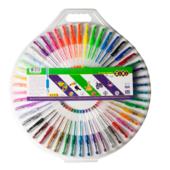 Набор гелевых ручек ZiBi Kids Line 5 видов 50шт (ZB.2207-99)
