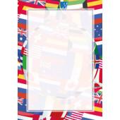 Картон для дипломов Galeria Papieru Flagi 25 шт (1620102000801)