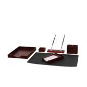 Набор настольный Bestar Nowaday 6 предметов из красного дерева (6144FDU)