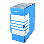 Бокс для архивации документов Donau, 155 мм, синий (7663301PL-10)