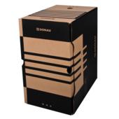 Бокс для архивации документов Donau, 200 мм, коричневый (7663401PL-02)