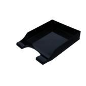 Лоток горизонтальний Арніка Симетрія 80803, пластик, чорний