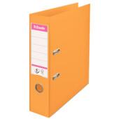 Папка-регистратор Esselte No.1 Power А4 75мм, оранжевая (811340)