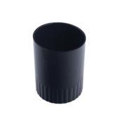 Стакан пластиковый для ручек Арника, черный (81881)