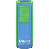 Карманная оснаска для штампа Trodat Pocket Printy 9511 сине-зеленая (9511 син/зел)