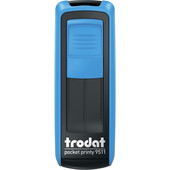 Карманная оснаска для штампа Trodat Pocket Printy 9511 синяя (9511 синя)