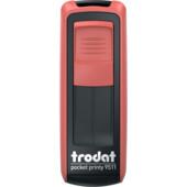 Карманная оснаска для штампа Trodat Pocket Printy 9511 красная (9511 черв)