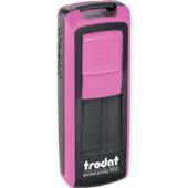 Карманная оснаска для штампа Trodat Pocket Printy 9512 розово-черная (9512 рож/чор)