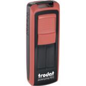 Карманная оснаска для штампа Trodat Pocket Printy 9512 красная (9512 черв)