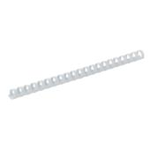 Пружины пластиковые Buromax, 8 мм, белый, 100 шт (BM.0501-12)